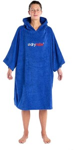 2021 Dryrobe Organic Cotton Towel Robe - Royal Blue