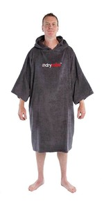 2020 Dryrobe Organic Cotton Towel Robe - Slate Grey