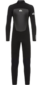 2020 Quiksilver Boys Prologue 5/4/3mm Back Zip Wetsuit Black EQBW103040