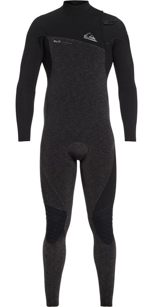 2018 Quiksilver Highline 3/2mm Zipperless Wetsuit Black EQYW103062