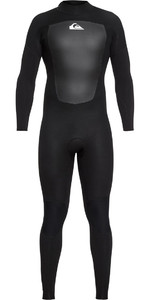 2021 Quiksilver Prologue 4/3mm Back Zip Wetsuit Black EQYW103067