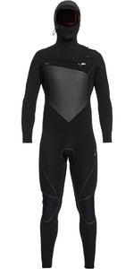 2019 Quiksilver Highline Plus 5/4/3mm Hooded Chest Zip Wetsuit Black EQYW203009