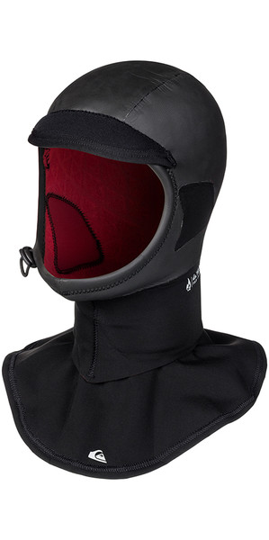 2018 Quiksilver Highline + 2mm Surf Hood Black EQYWW03026
