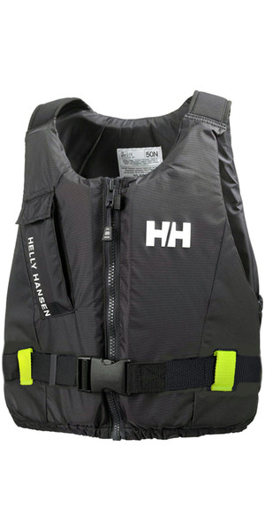 2018 Helly Hansen 50N Rider Vest / Buoyancy Aid Ebony 33820