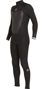 Billabong Absolute Comp 4/3mm Back Zip Wetsuit BLACK F44M22