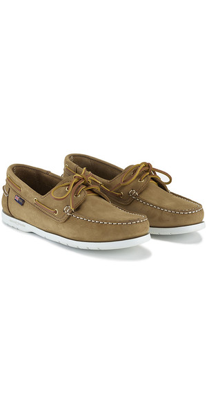 2018 Henri Lloyd Arkansa Deck Shoe Brown Nubuck F94412