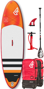 2019 Fanatic Fly Air Premium 10'4 Inflatable SUP Package 1132-2 - Orange