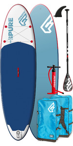 2019 Fanatic Pure Air 10'4 All Round Inflatable SUP Package 1156 - Blue
