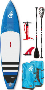 2019 Fanatic Ray Air 11'6 Touring Inflatable SUP Package 1134 - Blue