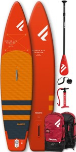 2020 Fanatic Ripper Air Touring 10' Inflatable SUP Package - Board, Bag, Pump & Paddle