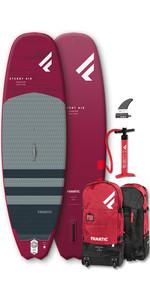 2020 Fanatic Stubby Air Premium 8'6 Inflatable SUP Package, Board, Bag & Pump