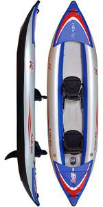 Z-Pro Flash 2 Man High Pressure Inflatable Kayak FL200 - Kayak Only