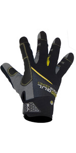 2021 Gul Junior CZ Summer Full Finger Glove Black GL1239-B6