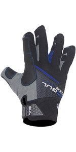 2021 Gul Junior CZ Winter Short Finger Glove Black GL1242-B6