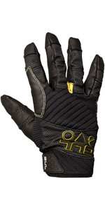 2019 Gul Junior EVO Pro Full Finger Sailing Glove Black GL1301-B4