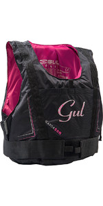 2020 Gul Junior Garda 50N Buoyancy Aid BLACK / PINK GM0162-A7
