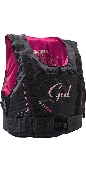 2019 Gul Womens Garda 50N Buoyancy Aid BLACK / PINK GM0162-A7