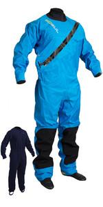 2019 GUL Dartmouth Eclip Zip Drysuit Blue GM0378-B5 WITH FREE UNDERSUIT