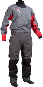 Gul Dartmouth Eclip Zip Drysuit CHARCOAL / RED GM0378 - WAREHOUSE 2ND