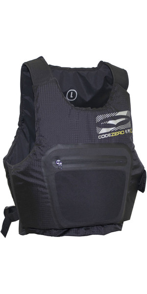 2018 GUL Code Zero Evo Buoyancy Aid BLACK GM0379-A9