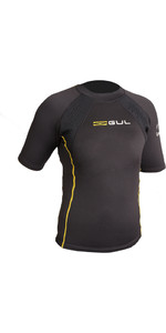 2019 GUL Evotherm Junior Thermal Short Sleeve Top BLACK EV0063-B3
