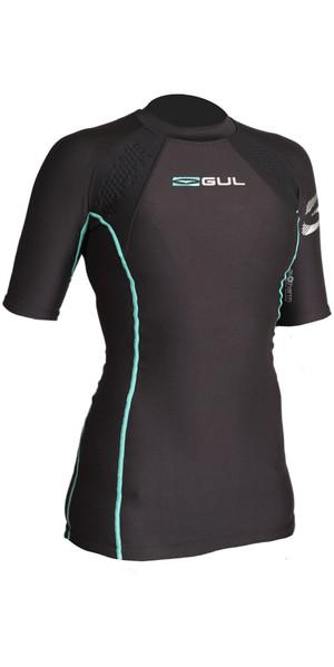 2019 GUL Evotherm Womens Thermal Short Sleeve Top BLACK EV0052-B3