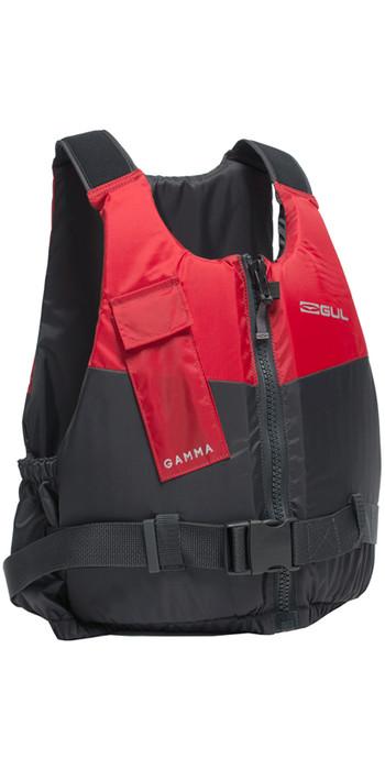 2020 GUL Gamma 50N Buoyancy Aid GREY / RED GM0380-A9
