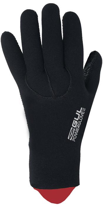 2021 GUL 5mm Power Gloves GL1229-B8 - Black