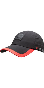 2021 GUL Recore Recycled Cap AC0129-B7 - Black / Red