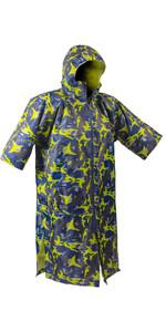 2021 GUL Evorobe Change Robe / Poncho AC0128-B6 - Black / Camo