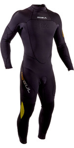 2020 GUL Mens Code Zero 4/3mm Back Zip Wetsuit CZ1201-B7 - Black