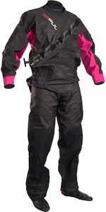 2019 GUL Womens Dartmouth Drysuit Black / Pink GM0383-B5