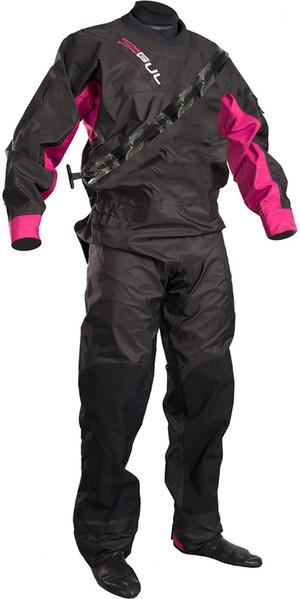 2019 GUL Womens Dartmouth Drysuit Black / Pink GM0383-B5