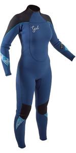 2020 GUL Womens Response 5/3mm Back Zip Wetsuit RE1229-B8 - Blue / Black