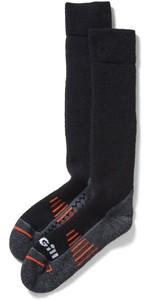 2021 Gill Boot Socks 764 - Black