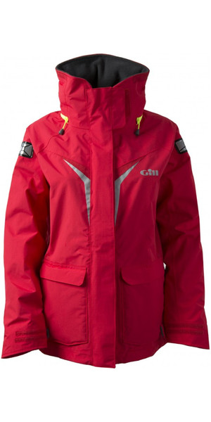 2019 Gill Junior Coastal OS3 Jacket RED OS31JJ