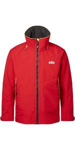 2021 Gill Mens OS3 Coastal Jacket OS32J - Red
