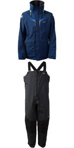 2020 Gill OS3 Mens Coastal Jacket OS31J & OS3 Mens Coastal Trousers OS31T COMBI SET DARK BLUE /  GRAPHITE