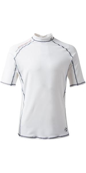 2019 Gill Pro Short Sleeve Rash Vest WHITE 4431