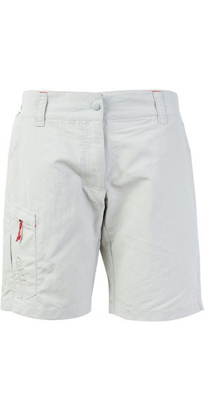 2018 Gill Womens UV Tec Shorts SILVER UV005W