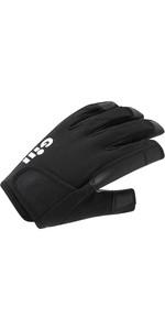 2021 Gill Mens Championship Long Finger Sailing Gloves 7253 - Black