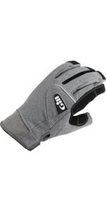 2021 Gill Deckhand Long Finger Gloves 7053 - Black