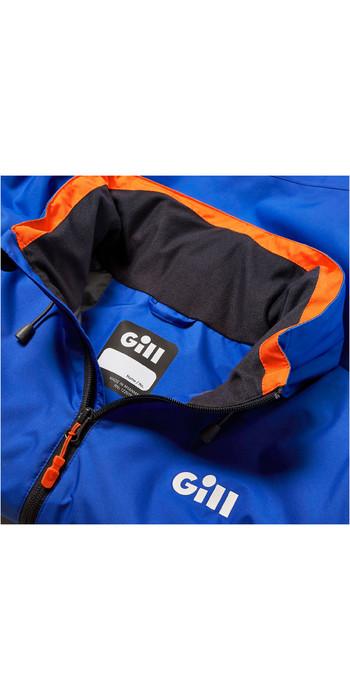 2021 Gill Mens Navigator Sailing Jacket IN86J - Blue