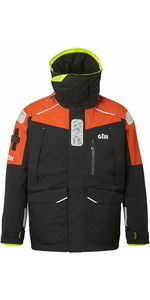 2022 Gill Mens OS1 Ocean Sailing Jacket OS13J - Graphite / Orange