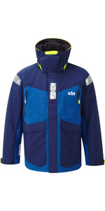 2019 Gill OS2 Mens Offshore Jacket Blue OS24J