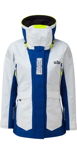 2019 Gill OS2 Womens Offshore Jacket White OS24JW