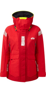 2020 Gill OS2 Womens Offshore Jacket Red OS24JW