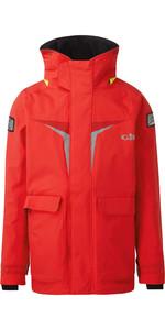 2021 Gill Junior Coastal OS3 Jacket RED OS31JJ