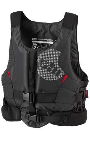 2018 Gill Pro Racer Front Zip Buoyancy Aid Black - 4917