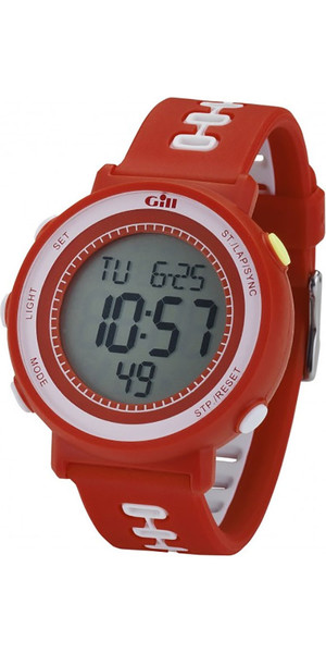 2018 Gill Race Watch Timer Red W013